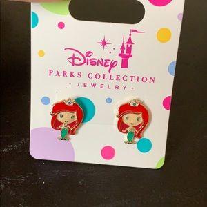 Disney Parks Collection Ariel mermaid earrings